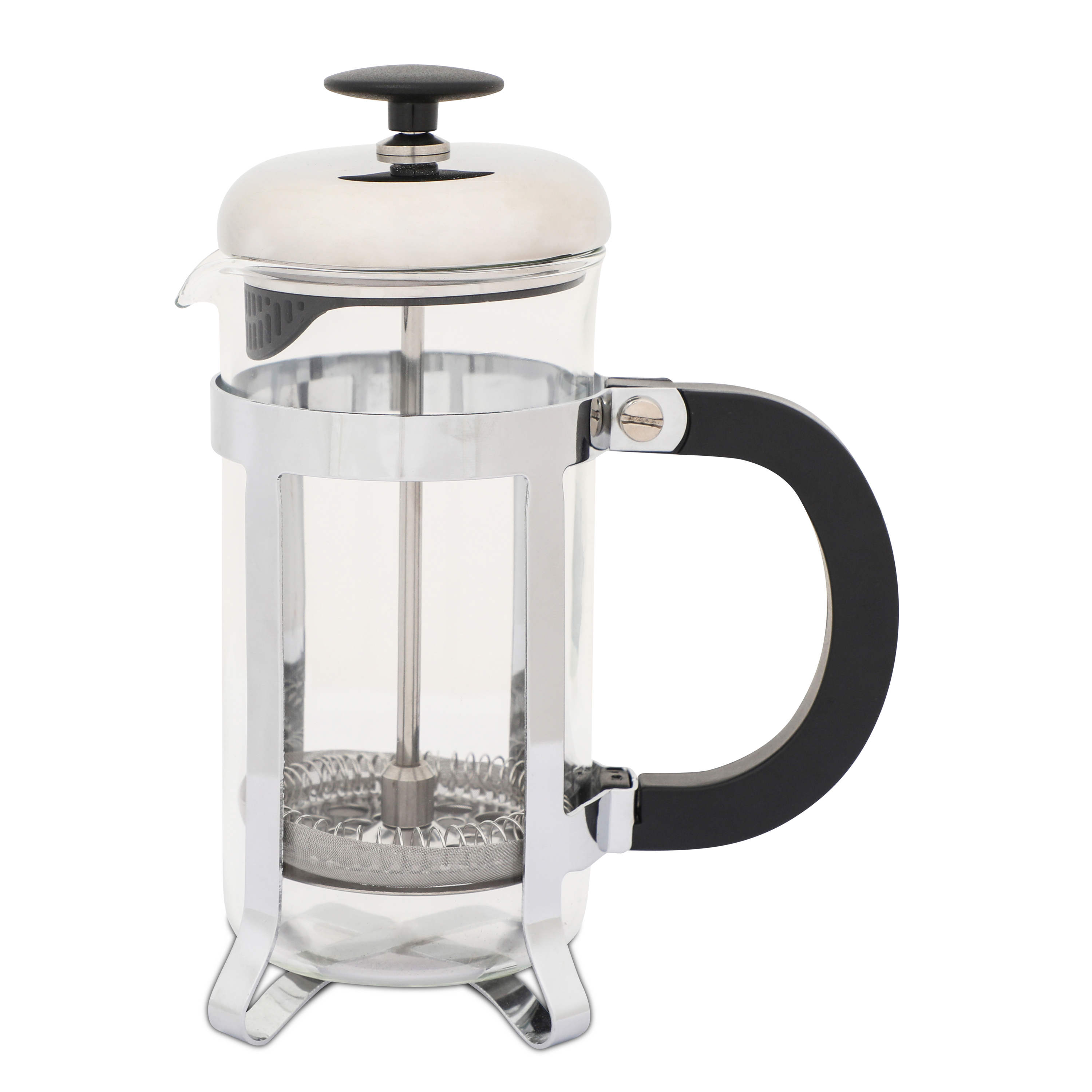 Whittard Silver 8-Cup Cafetiere