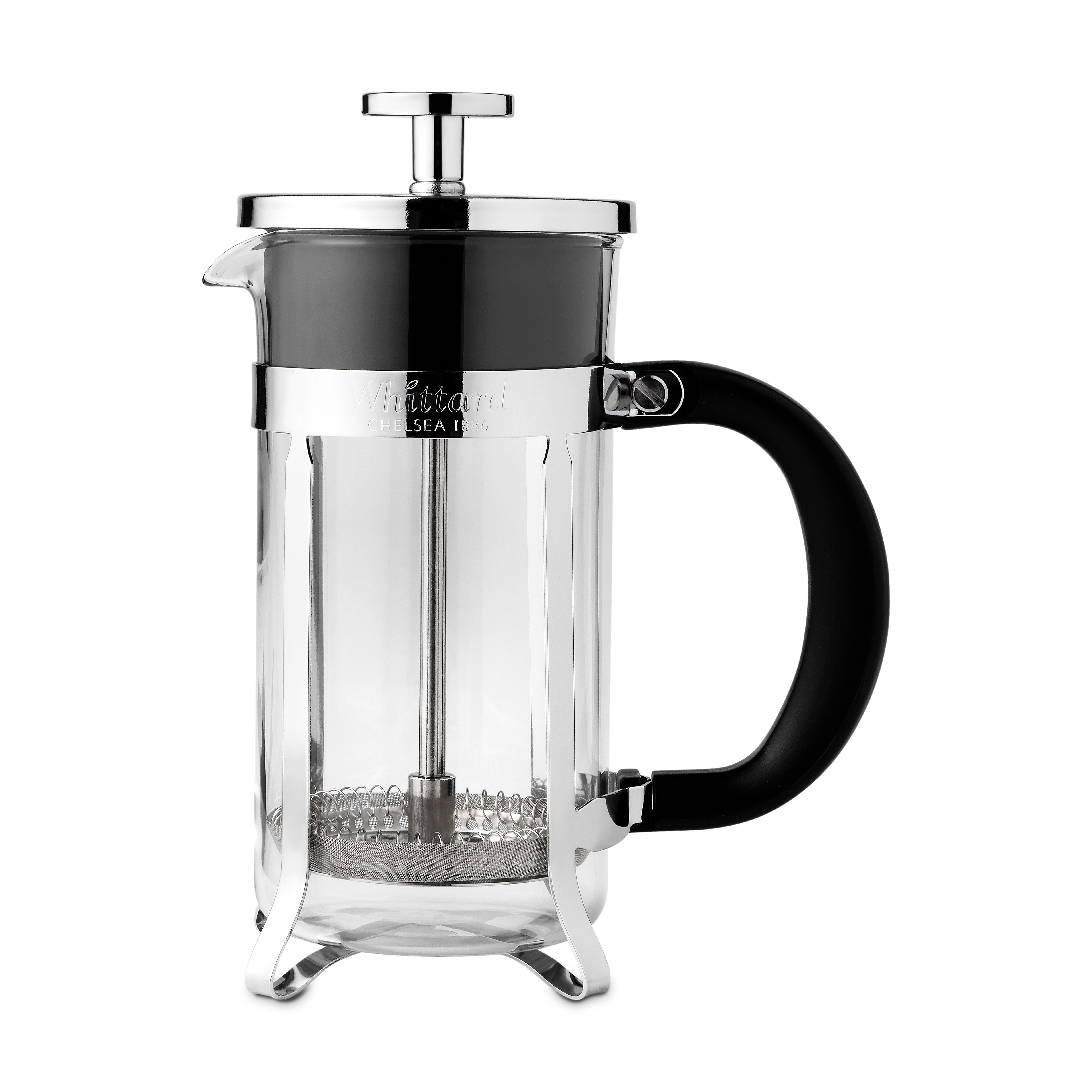 Whittard Chrome 3-Cup Cafetiere