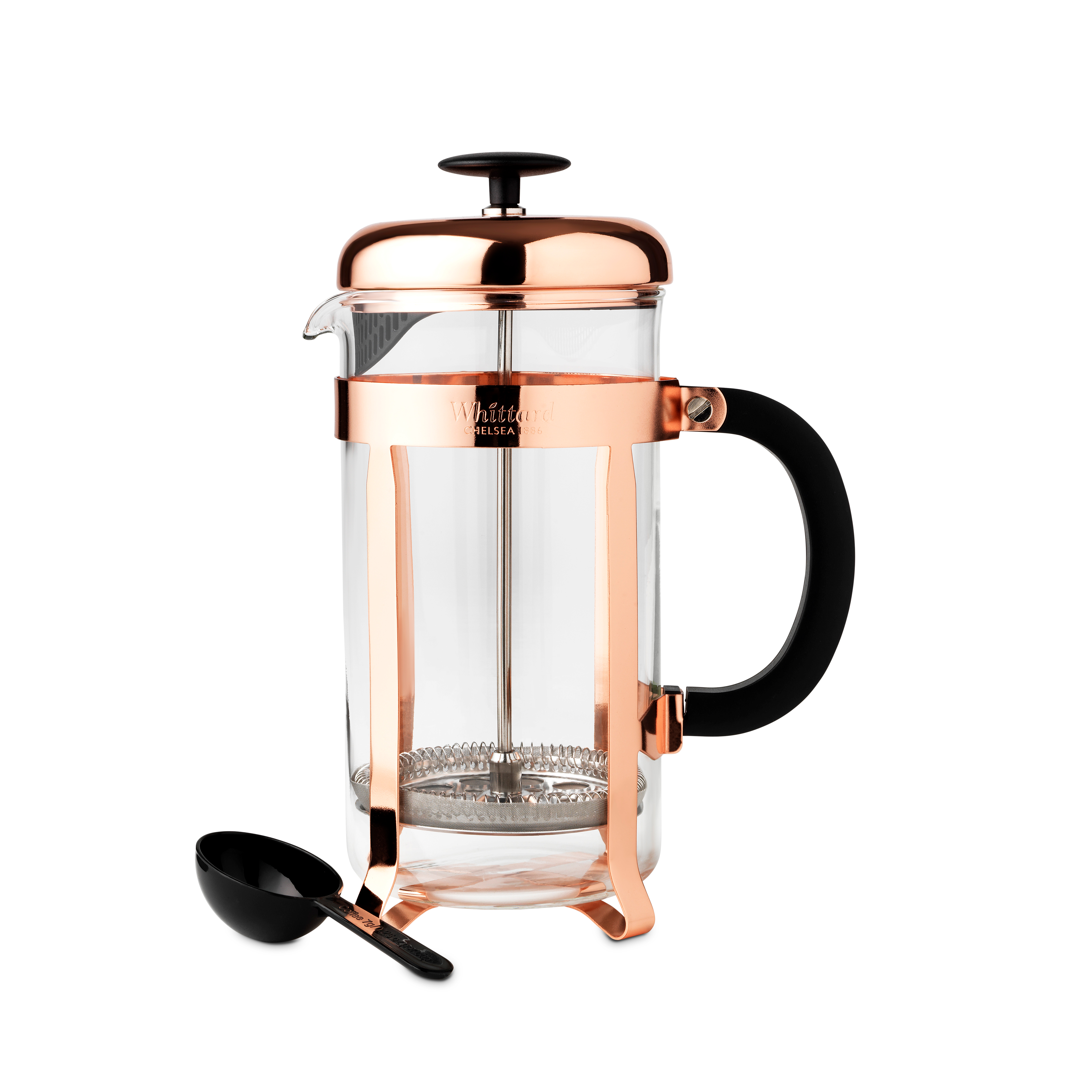 Whittard Copper 3-Cup Cafetiere